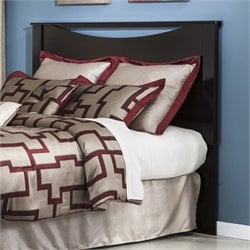 Zanbury Wood Panel Headboard in Merlot