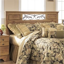 Ashley Bittersweet Wood Full Queen Panel Headboard in Light Brown
