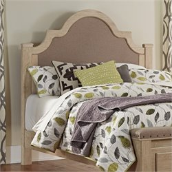 Ashley Annilynn Upholstered Queen Headboard in Dry Cream
