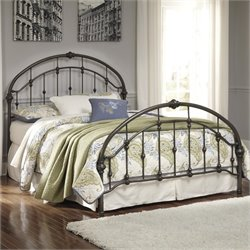 Ashley Nashburg Metal Queen Bed in Bronze