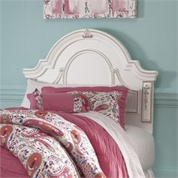 Ashley Korabella Wood Twin Headboard in White