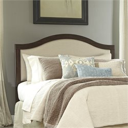 Ashley Corraya Upholstered Queen Panel Headboard in Brown