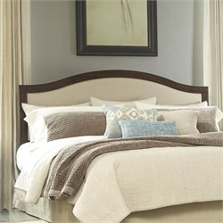 Ashley Corraya Upholstered King Panel Headboard in Brown