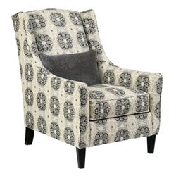 Ashley Azlyn Fabric Accent Chair in Graphite