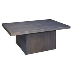 Ashley Lamoille Rectangular Coffee Table in Dark Gray