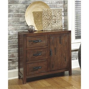 Ashley Vennilux Accent Chest in Brown