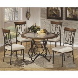 Hopstand 5 Piece Round Dining Set