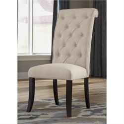 Ashley Tripton Upholstered Dining Chair in Natural