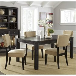 Ashley Gavelston 5 Piece Dining Set in Beige