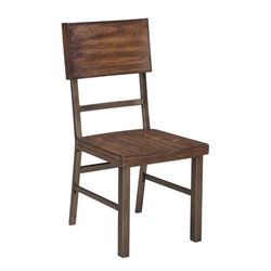 Ashley Riggerton Dining Chair in Burnished Brown