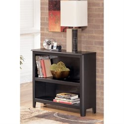 Ashley Carlyle Small Bookcase in Almost Black