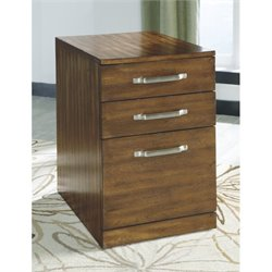Ashley Lobink File Cabinet in Brown
