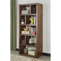 Ashley Lobink Open Bookcase in Brown