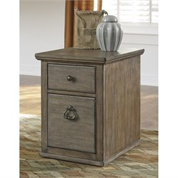 Ashley Tanshire File Cabinet in Grayish Brown