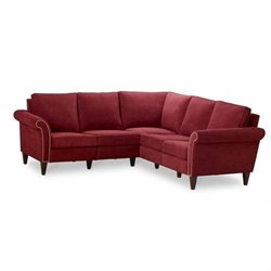 Homeware Pippa 5 Seat Corner Sectional in Cayenne