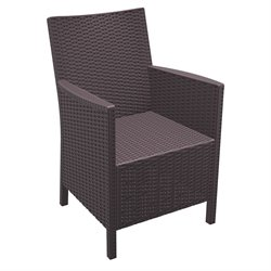 Compamia California Resin Wickerlook Chair (Set of 2)