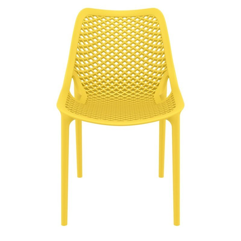 Compamia Air Patio Dining Chair in Yellow