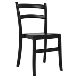 Compamia Tiffany Patio Dining Chair in Black