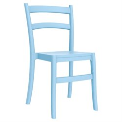 Compamia Tiffany Patio Dining Chair in Light Blue