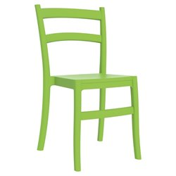Compamia Tiffany Patio Dining Chair in Tropical Green