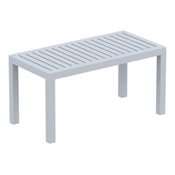 Compamia Ocean Coffee Table in Silver Gray