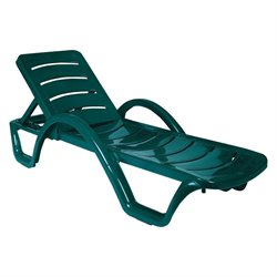 Compamia Sunrise Pool Chaise Lounge in Green