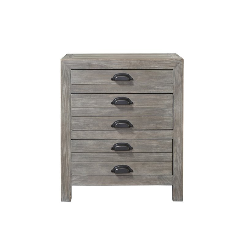 Universal Furniture Curated Gilmore Nightstand In Graystone