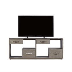 Universal Furniture Curated Danbury TV Stand in Graystone