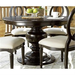 Universal Furniture Summer Hill Round Dining Table in Midnight