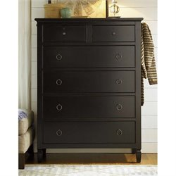 Universal Furniture Summer Hill Drawer Chest in Midnight