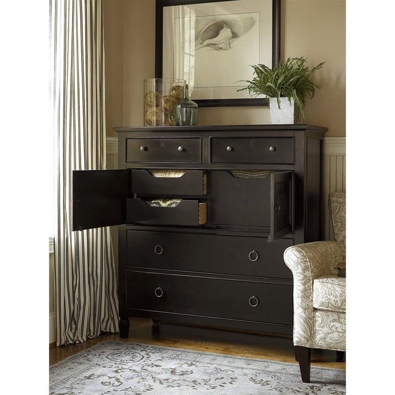 Universal Furniture Summer Hill Dressing Chest In Midnight 988175
