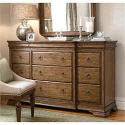 Universal Furniture New Lou Drawer Dresser in Cognac
