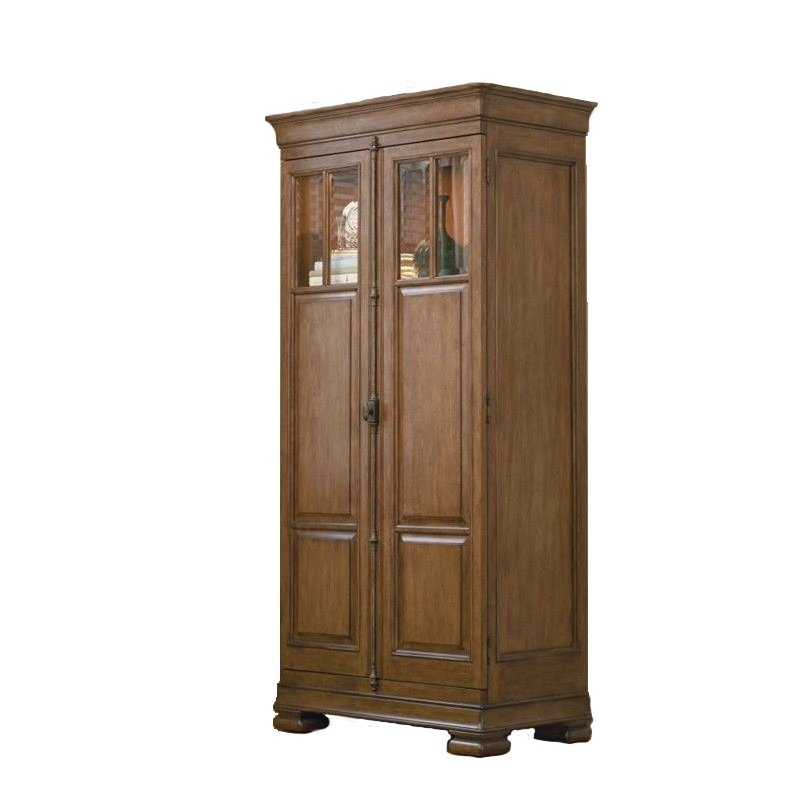 Universal Furniture New Lou Tall Cabinet in Cognac
