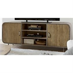 Universal Furniture Moderne Muse Waterfall Media Console in Bisque