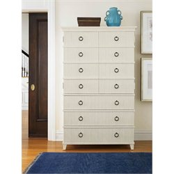 Universal Furniture Silhouette Tall Chest in Alabaster
