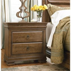 Universal Furniture New Lou Nightstand in Cognac