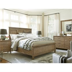 Universal Furniture Moderne Muse Bed in Bisque