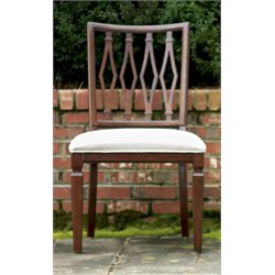 Universal Furniture Silhouette Harlequin  Dining Chair in Truffle