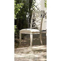 Universal Furniture California X-Back Side Chair in Malibu