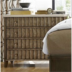 Universal Furniture California Accent Chest in Champagne