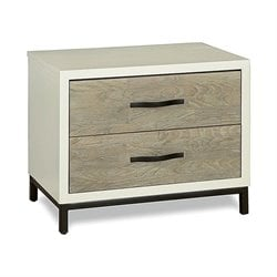 Universal Furniture The Spencer Bedroom Nightstand in Gray Parchment