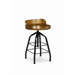 Universal Furniture Great Rooms Potter's Stool in Hickory Stick