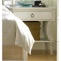 Universal Furniture Summer Hill Night Table in Cotton