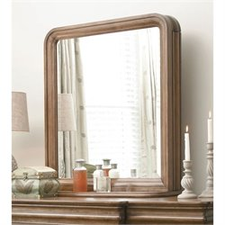 Universal Furniture New Lou Vertical Storage Mirror in Cognac