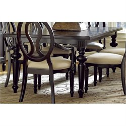 Universal Furniture Summer Hill Dining Table in Midnight