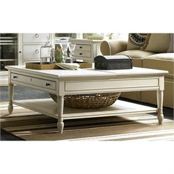 Universal Furniture Summer Hill Lift Top Cocktail Table in Cotton