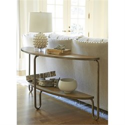 Universal Furniture Moderne Muse Console Table in Bisque