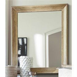 Universal Furniture Moderne Muse Mirror in Bisque