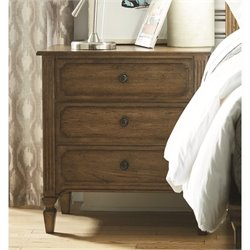Universal Furniture Remix 3 Drawer Nightstand in Bannister