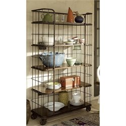 Universal Furniture Cordevalle Bakers Rack in Heirloom